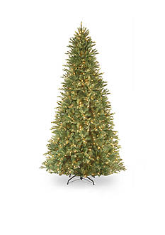 National Tree Company 9-ft. Tiffany Fir Slim Hinged Tree