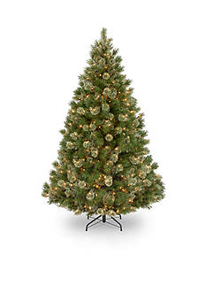 National Tree Company 7.5-ft. Wispy Willow Grande Medium Hinged Tree
