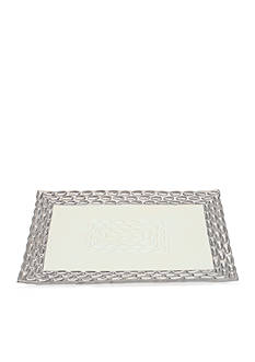 MICHAEL WAINWRIGHT Truro Platinum Rectangle Tray