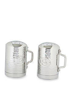 Old Dutch International, Ltd. Hammered Stainless Steel Stovetop Salt and Pepper Set