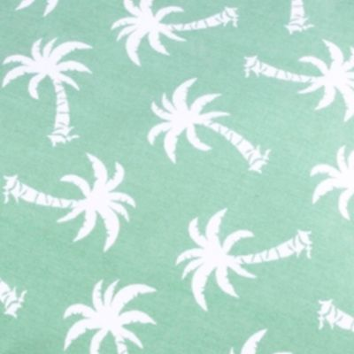 Pet Accessories: Green Panama Jack Palm Beach Large Rectangle Pet Bed