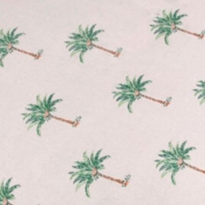 Pet Accessories: Palm Tree Panama Jack Palm Beach Large Rectangle Pet Bed