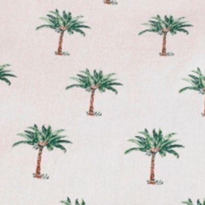 Pet Accessories: Palm Tree Panama Jack Palm Beach Round Pet Bed