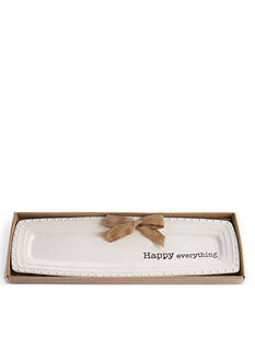 Mud Pie Circa 17-in. 'Happy Everything' Tray