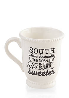 Mud Pie 16-oz. 'South' Definition Mug