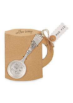 Mud Pie Circa 5.5-in. 'This Is How We Brew It' Coffee Scoop