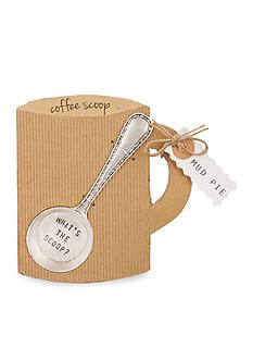 Mud Pie Circa 5.5-in. 'What's the Scoop?' Coffee Scoop