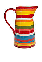 Simply Stripe Pitcher 2.6-qt.