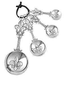 Ganz Fleur de Lis 4 Piece Measuring Spoon Set