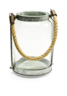 Caffco Large Glass Lantern