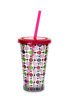 Clay Art Diamond Dot 16-oz. Tumbler
