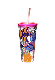 Clay Art Sea Life 22-oz. Tumbler with Straw