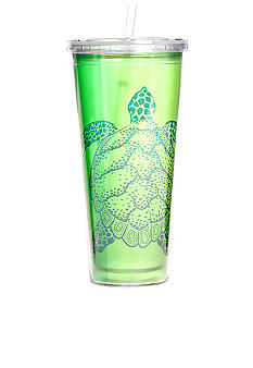 Clay Art Sea Turtle 22-oz. Tumbler With Straw