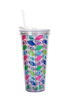 Clay Art Leaf Hot / Cold 22-oz. Tumbler