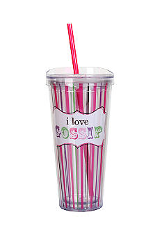 Clay Art I Love Gossip Hot/Cold 22 oz Tumbler