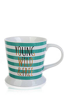 Home Accents Young Wild & Free Mug
