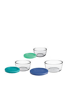 Anchor Hocking Glass 6-Piece Storage Set