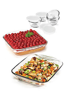 Anchor Hocking Glass 10PC Bakeware Value Set - Online Only