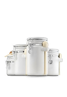 Anchor Hocking Glass 4 Piece Canister Set - more colors available