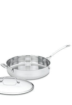Cuisinart 5 Quart Saut Pan With Cover & Helper Handle - Online Only 43330H