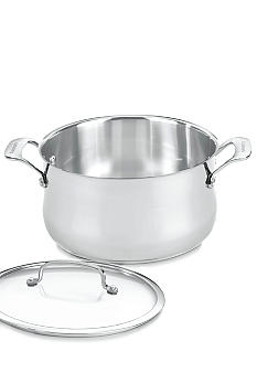 Cuisinart Contour Stainless 6 Quart Saucepot with Cover - Online Only