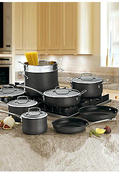 Cuisinart Contour Hard Anodized 13-Piece Cookware Set 6413