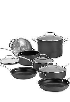 Cuisinart Chef's Classic Nonstick Hard-Anodize 11 Piece Cookware Set
