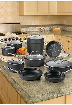 Cuisinart Chef's Classic Nonstick 17-Piece Cookware Set - Online Only