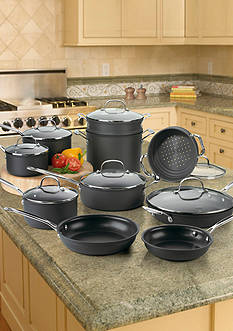 Cuisinart Chef's Classic Nonstick 17-Piece Cookware Set