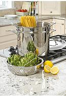 Cuisinart Chef's Classic Stainless 12-Quart Pasta/Steamer Set - Online Only 77412