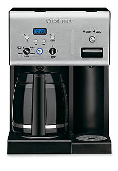 Cuisinart Coffee Plus 12-Cup Programmable Coffeemaker and Hot Water System CHW12