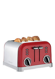 Cuisinart 4 Slice Classic Metal Toaster CPT180MR -Metalic Red