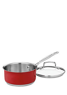 Cuisinart 1.5-qt. Saucepan With Cover CS1916MR - Metallic Red