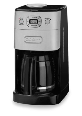 Cuisinart Grind And Brew Coffee Maker White : Cuisinart Grind & Brew 12-Cup Coffee Maker DGB625BC Belk - Everyday Free Shipping