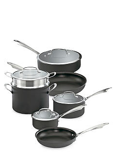 Cuisinart Dishwasher Safe 11-Piece Cookware Set - Online Only DSA11