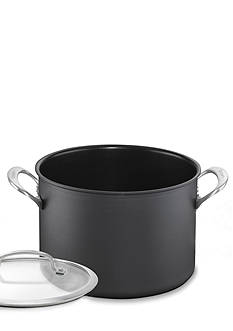 Cuisinart Dishwasher Safe Hard Anodized Nonstick 8-qt. Stockpot with Cover - Online Only
