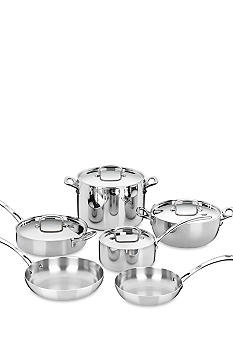 Cuisinart French Classic Tri-Ply Stainless 10 Piece Set - Online Only