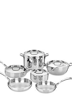 Cuisinart French Classic Tri-Ply Stainless 10-Piece Set - Online Only