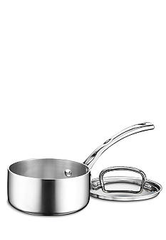 Cuisinart French Classic Tri-Ply Stainless 1 Quart Saucepan with Cover - Online Only