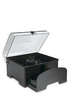 Cuisinart Elite Collection Accessory Storage Case for 12-Cup Food Processors - Black