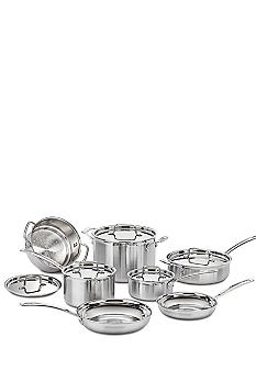 Cuisinart MultiClad Pro Stainless Steel 12 Piece Cookware Set - Online Only
