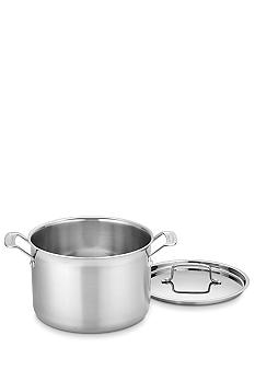 Cuisinart 8 Quart MultiClad Pro Stainless Saucepot with Cover - Online Only