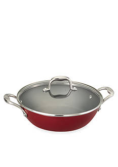 Guy Fieri Light Weight Cast Iron Red 5-qt. Braiser Pan - Online Only
