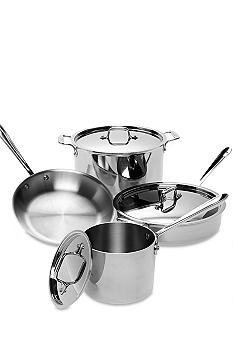 All-Clad 7 PC Stainless Steel Cookware Set