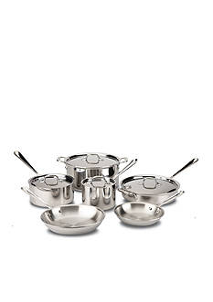 All-Clad 10-piece Stainless Steel Set