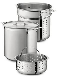 All-Clad 12-qt. Stainless Steel Multi Cooker Stock Pot