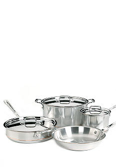 All-Clad 7-piece Copper Core Cookware Set