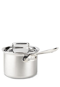 All-Clad Brushed d5 2-qt. Sauce Pan with Lid