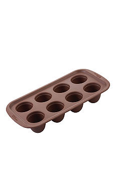 Wilton Bakeware 8 Cavity Round Brownie Pops Silicone Mold