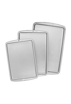 Wilton Bakeware 3-Pc Non-Stick Cookie Sheet Set